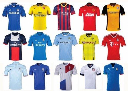 Quần áo Câu Lạc bộ và đội tuyển Quốc gia